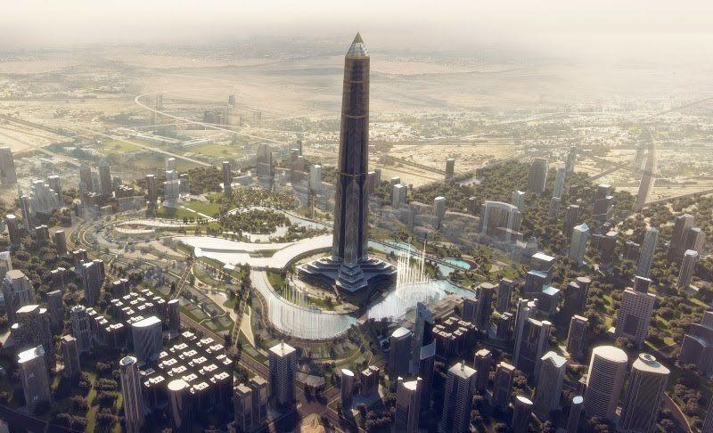 Afrika'nın en yüksek binası Mısır'da yükseliyor