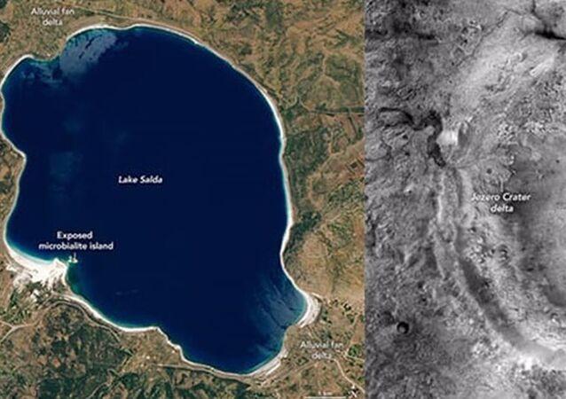NASA için Salda'da araştırma yapan Prof. Dr. Balcı: Bu göl, Mars'ın 3.5 milyar yıl önceki halini gösteriyor olabilir