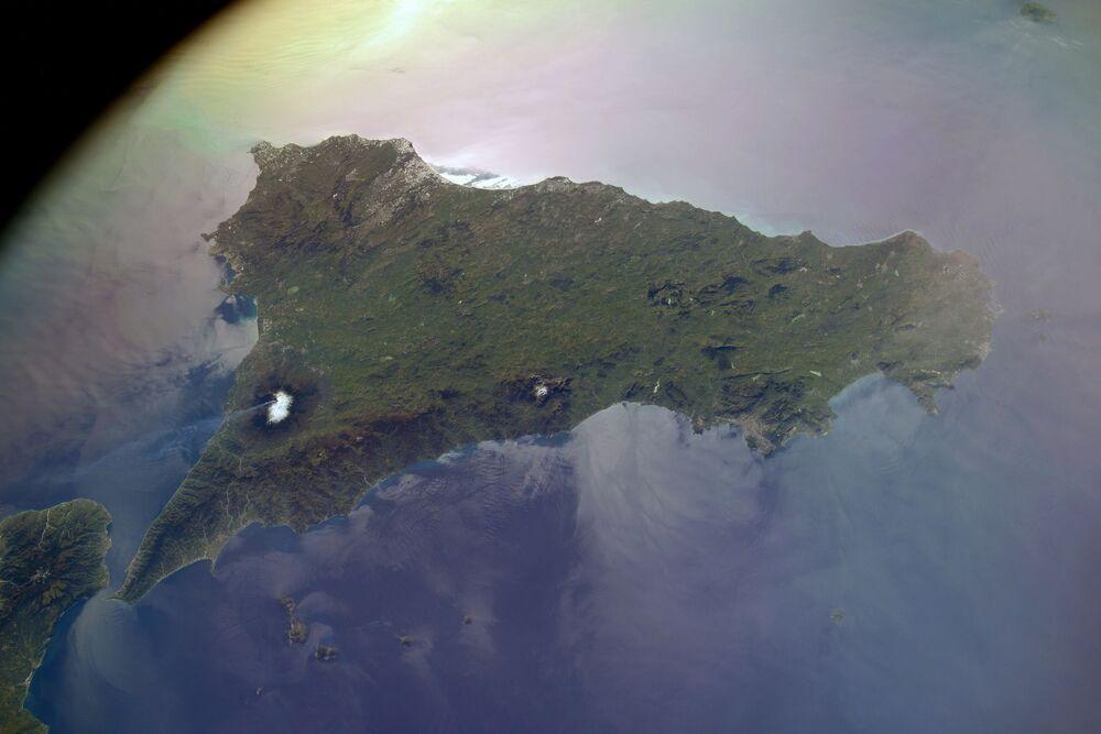 Sicilya Adası'ndaki Etna Yanardağı