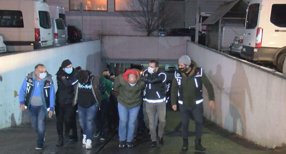 'Daltonlar' çetesi operasyonunda 44 tutuklama