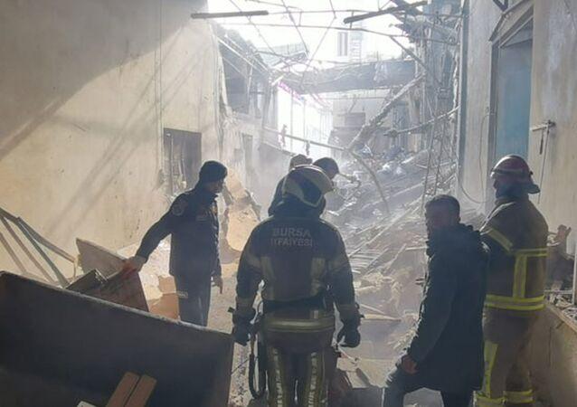Fabrikada buhar kazanı patladı; 1 işçi öldü, 4'ü ağır 6 işçi yaralandı