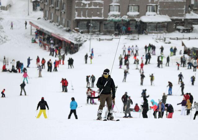 Uludağ - kayak