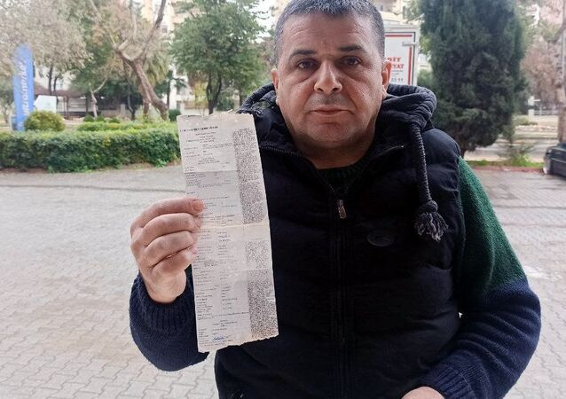 Mersin'de dezenfektan kullandıktan sonra polis kontrolünde 0.26 promil alkollü çıkan Ferit Aslan