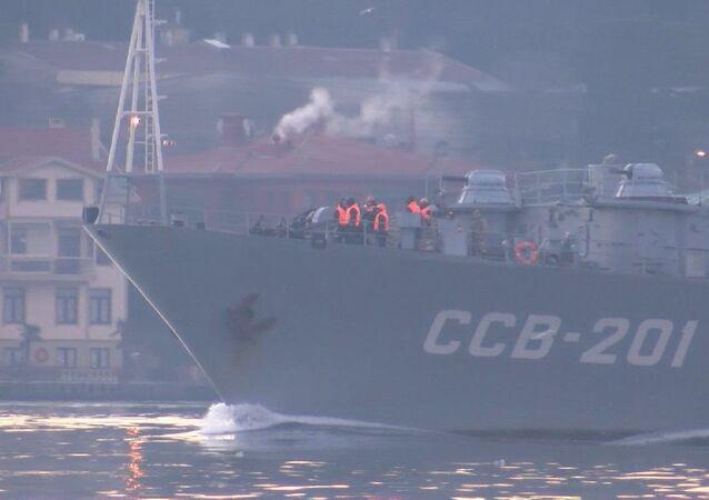Rus istihbarat gemisi