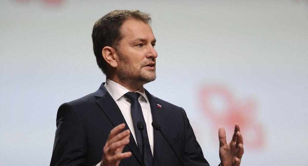 Slovakya Başbakanı İgor Matovic