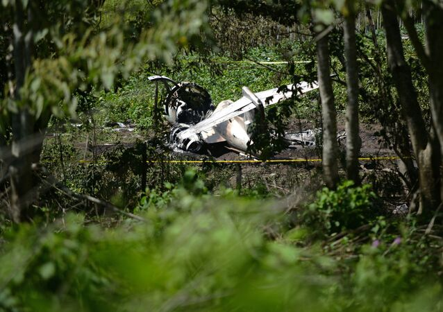 Meksika, Uçak Kazası
