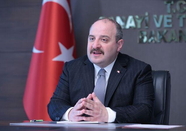 Sanayi ve Teknoloji Bakanı Varank, COVID-19 ve Toplum etkinliğinin açılışında konuştu