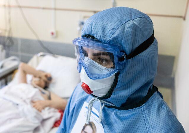 koronavirüs, hasta, doktor, Rusya