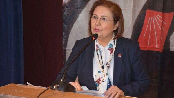 CHP Aydın Kadın Kolları Başkanı Ayşe Özdemir - Sputnik Türkiye