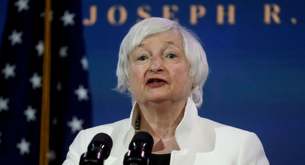 ABD Hazine Bakanı Janet Yellen