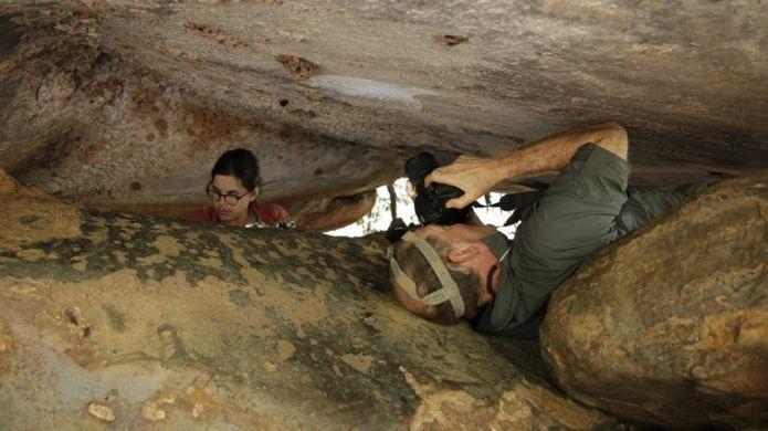 Avustralya'da 17 bin 300 yıllık kanguru çizimi keşfedildi.
