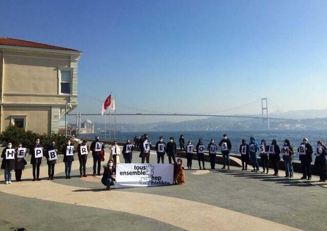 Galatasaray Üniversitesi, protesto