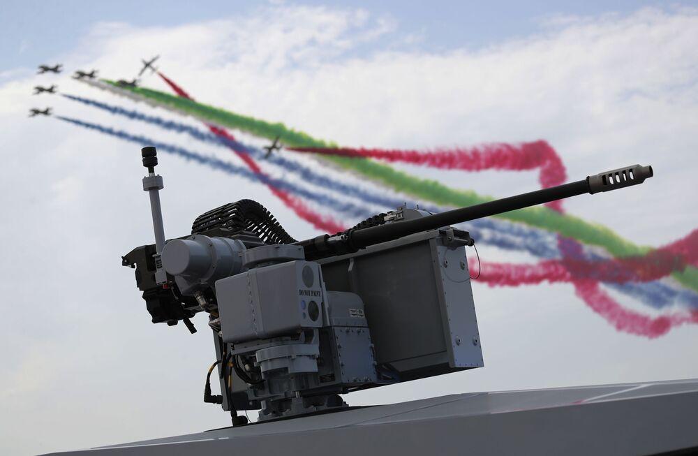 BAE Hava Kuvvetleri akrotim filosunun uçuşu
