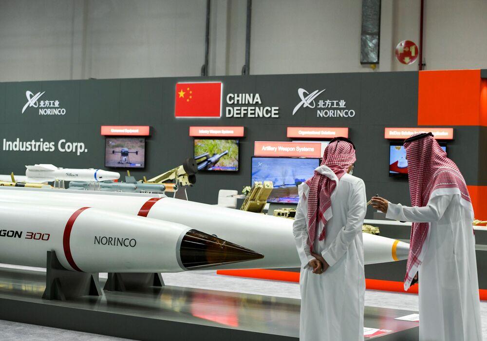 Çin savunma şirketi Norinco standı