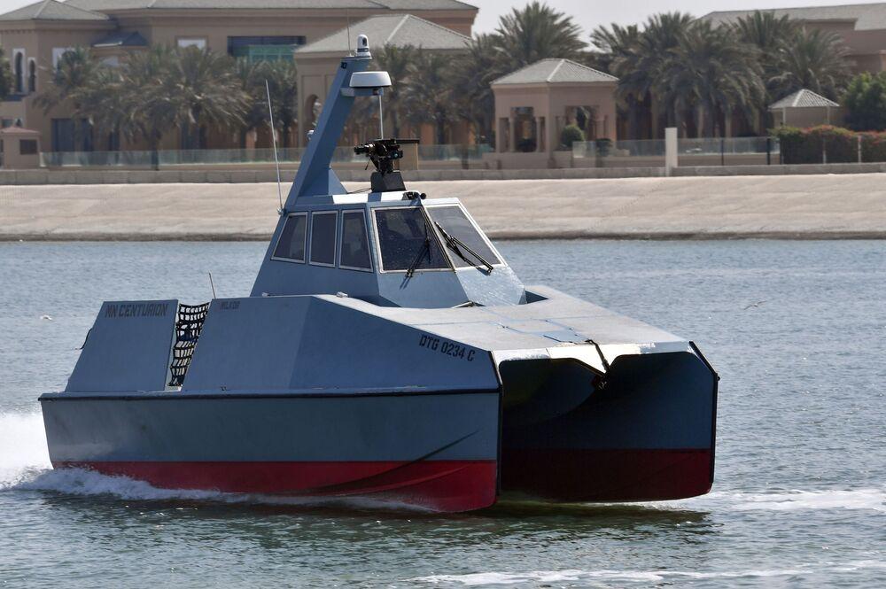Güney Afrika merkezli Milkor şirketinin geliştirdiği MN Centurion DTG 0234C yüksek hızlı önleme botu