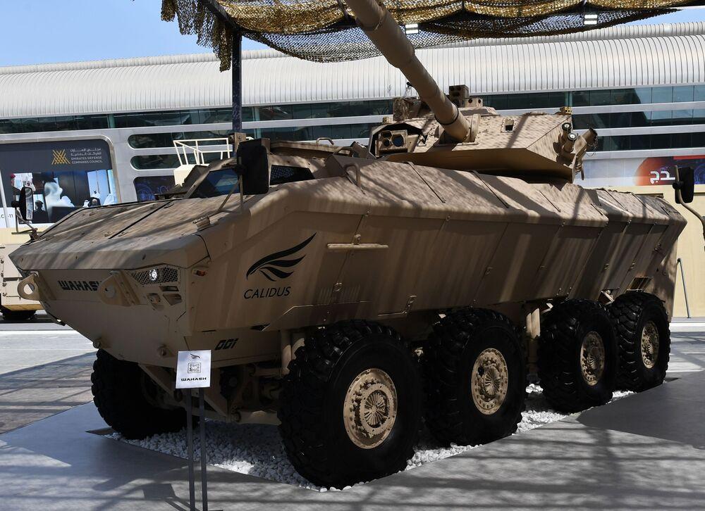 BAE'li şirket Calidus'un geliştirdiği Calidus Wahash zırlı savaş aracı