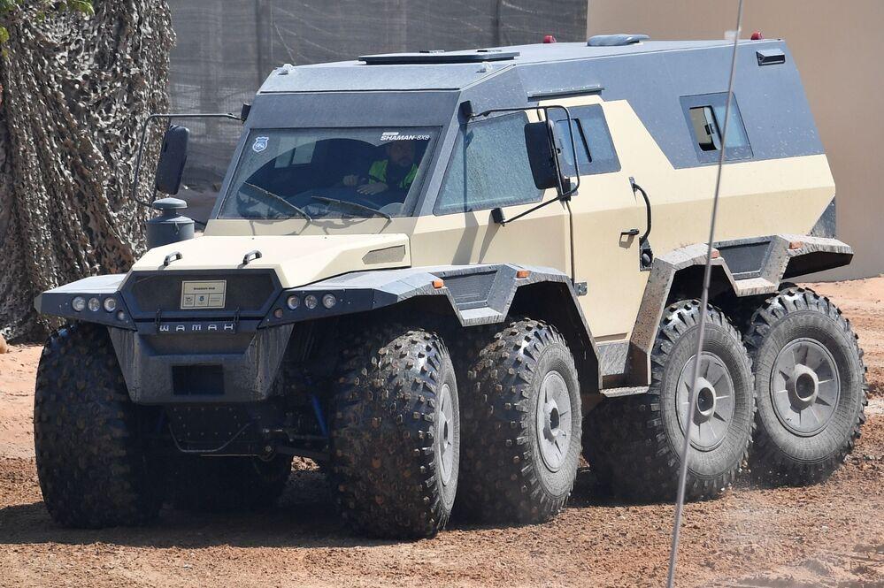 Rus 'Şaman' 8x8 arazi aracı