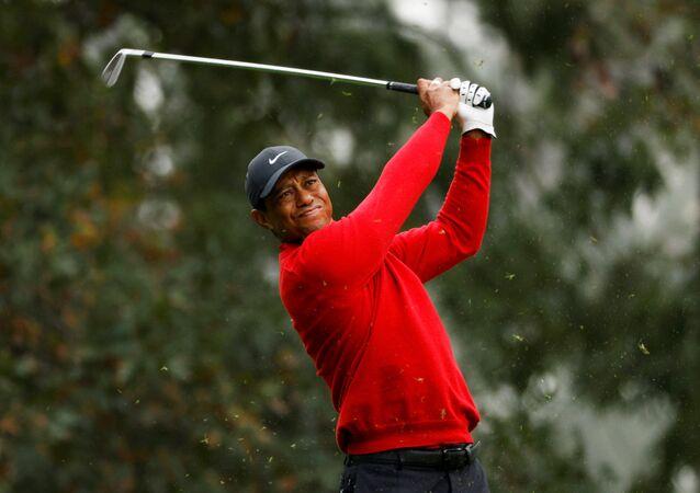 ABD'li ünlü golf sporcusu Tiger Woods