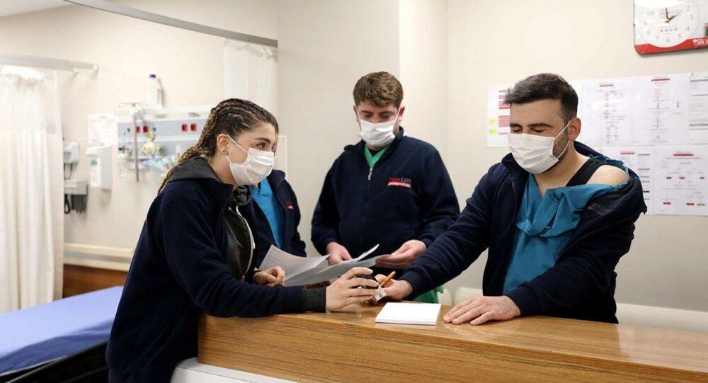 Gaziantep'te özel bir hastanenin acil servisine saldırı