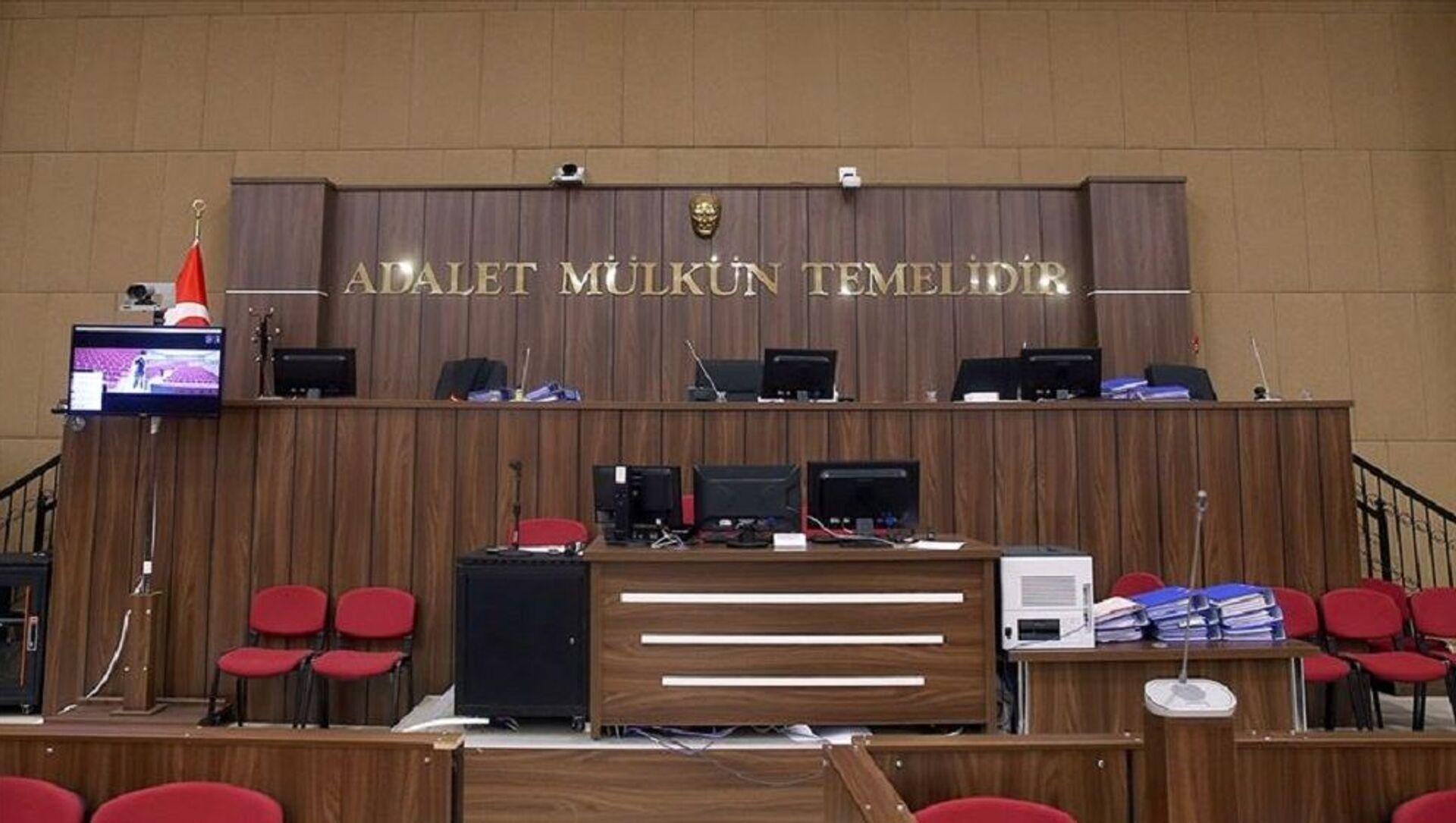 Mahkeme salonu - Sputnik Türkiye, 1920, 29.06.2021