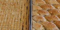 Gaziantepli usta dünyanın en küçük baklavasını yaptı