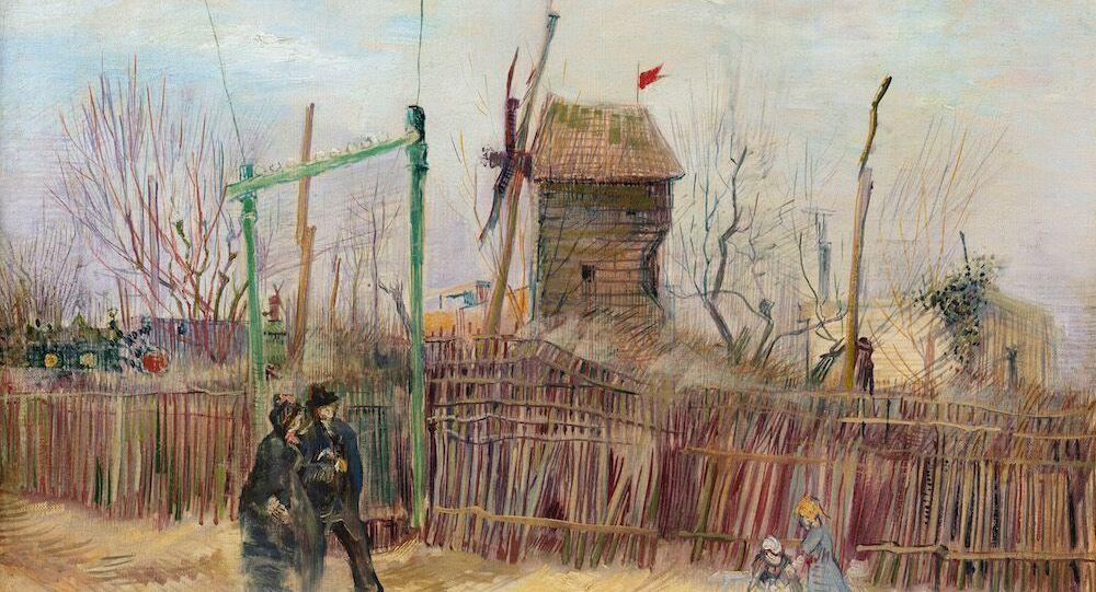 Van Gogh'un sergilenmemiş eseri Montmartre 10 milyon dolara açık artırmada.