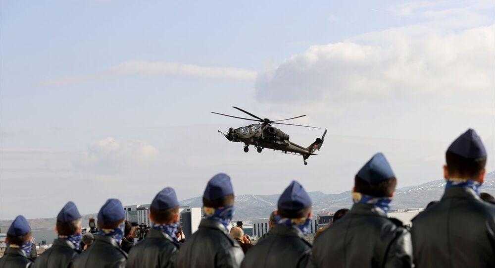 Emniyet Genel Müdürlüğüne ilk T129 ATAK Helikopteri Teslim Töreni