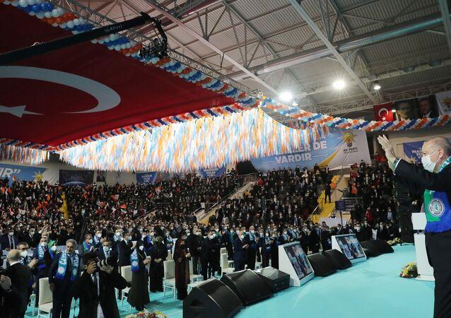 Recep Tayyip Erdoğan - Yenişehir kapalı spor salonu - Kongre