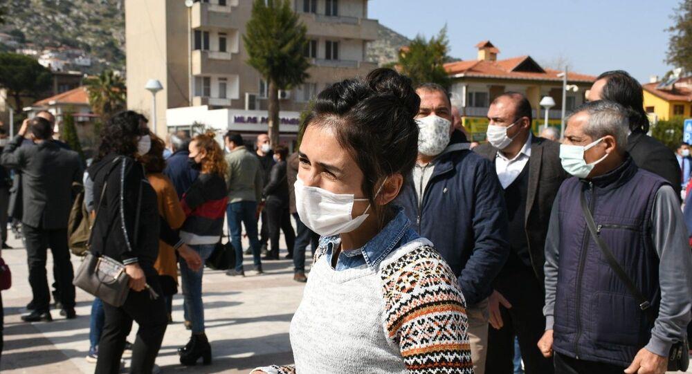 Saldırıya uğrayan öğretmen İlknur Keskin, Milas, Muğla