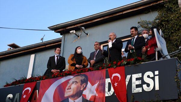 CHP Genel Başkanı Kemal Kılıçdaroğlu, Aksaray programları kapsamında Saratlı Beldesini ziyaret etti. - Sputnik Türkiye