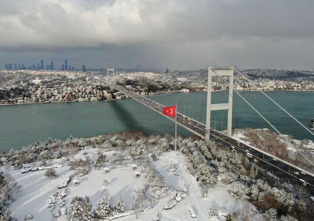 Küresel soğumayla İstanbul Boğazı donacak