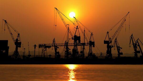 ithalat, ihracat, ticaret, ekonomi - Sputnik Türkiye