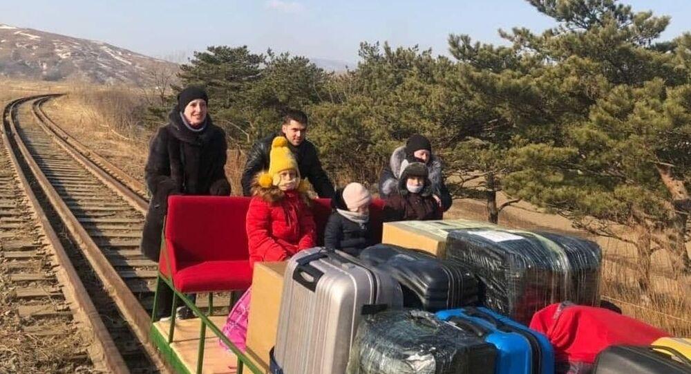 Kuzey Kore- Rus diplomatlar