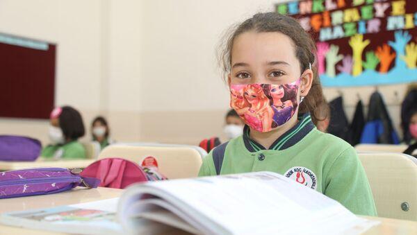 Sivas'ta okullarda yüz yüze eğitim - Sputnik Türkiye