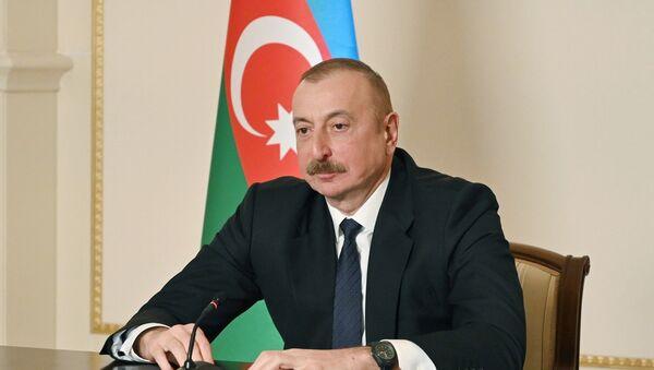 Aliyev - Sputnik Türkiye