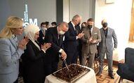 Cumhurbaşkanı Erdoğan'a Atlas 1948 Sinema Müzesi açılışında doğum günü pastası sürprizi