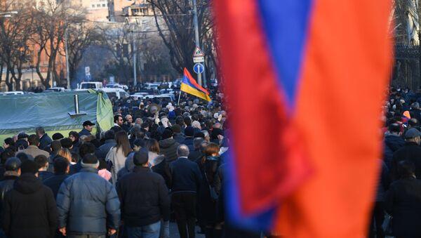 Ermenistan - protesto - Sputnik Türkiye