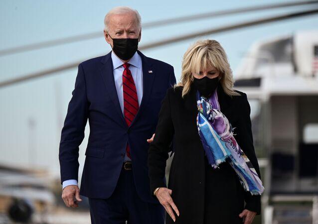 ABD Başkanı Joe Biden ve eşi Jill Biden