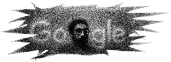 Arama motoru Google, 28 Şubat tarihine özel tasarlanan doodle ile Kuzgun Acar'ı ana sayfasına taşıdı.