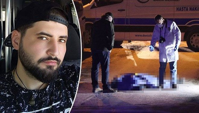 Motoruna çarparak ölümüne neden olduğu kuryeyi sokağa bırakıp kaçtı