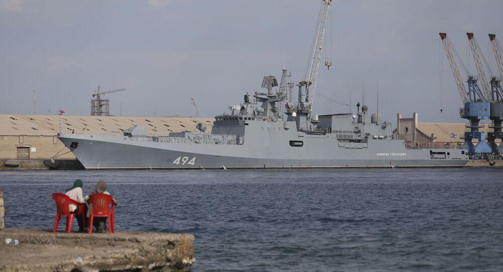 ABD'nin USS Winston S. Churchill destroyeri de Port Sudan'a giriş yaptı