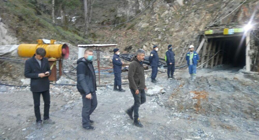 Çanakkale'de maden ocağı göçtü