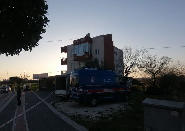 Jandarma-olay yeri-Antalya