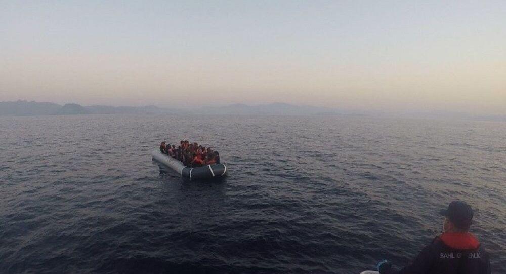 Ege Denizi, göçmen