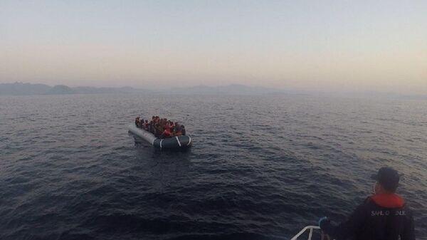 Ege Denizi, göçmen - Sputnik Türkiye