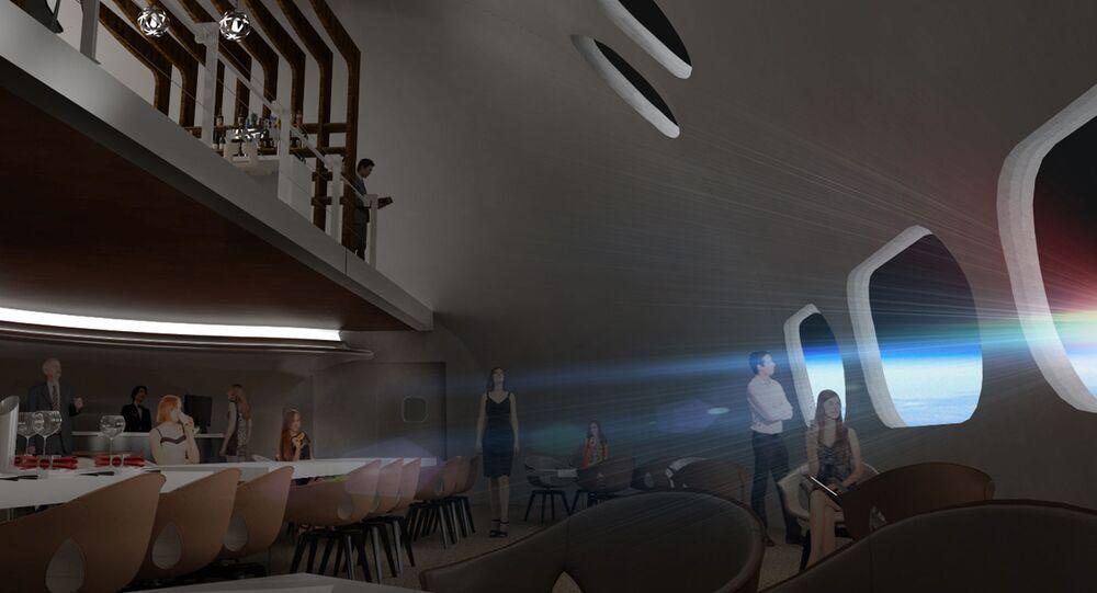 2025 yılında Dünya'nın yörüngesinde inşa edilmeye başlanacak 400 kişi kapasiteli otelde, sinema, spa ve çeşitli restoranlar yer alacak