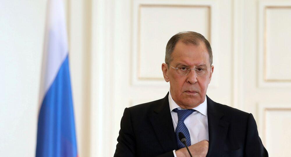 Lavrov'dan ABD'nin olası Navalnıy yaptırımları hakkında açıklama