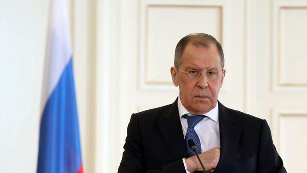 Lavrov'dan ABD'nin olası Navalnıy yaptırımları hakkında açıklama - Sputnik Türkiye