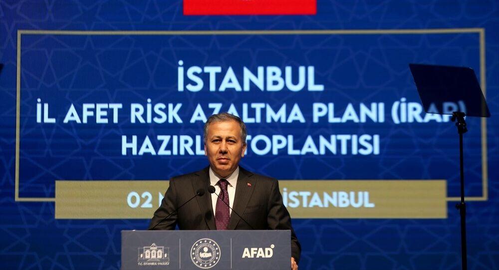 İstanbul Valisi Ali Yerlikaya