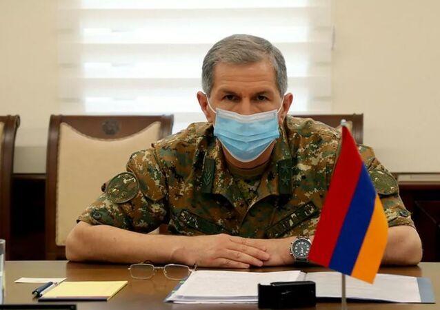 Ermenistan Genelkurmay Başkanı Gasparyan